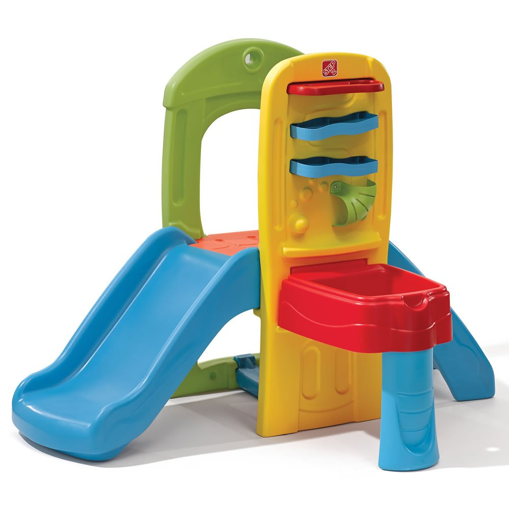 Amazon.com: Step2 Play Ball Fun Climber With Slide For Toddlers: Toys U0026  Games