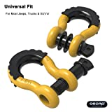oEdRo D Ring Shackles (2pc) Shackle 4.75 Ton