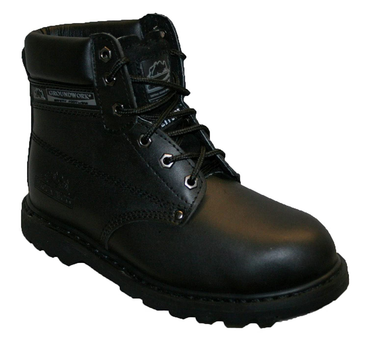 LADIES WORK BOOTS, LADIES STEEL TOE CAPS, LACE UP WITH TREAD SOLE