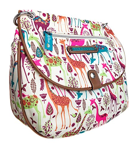Lily Bloom QUINN CONVERTIBLE Crossbody Bag, Giraffe-IC Park, Eco Friendly