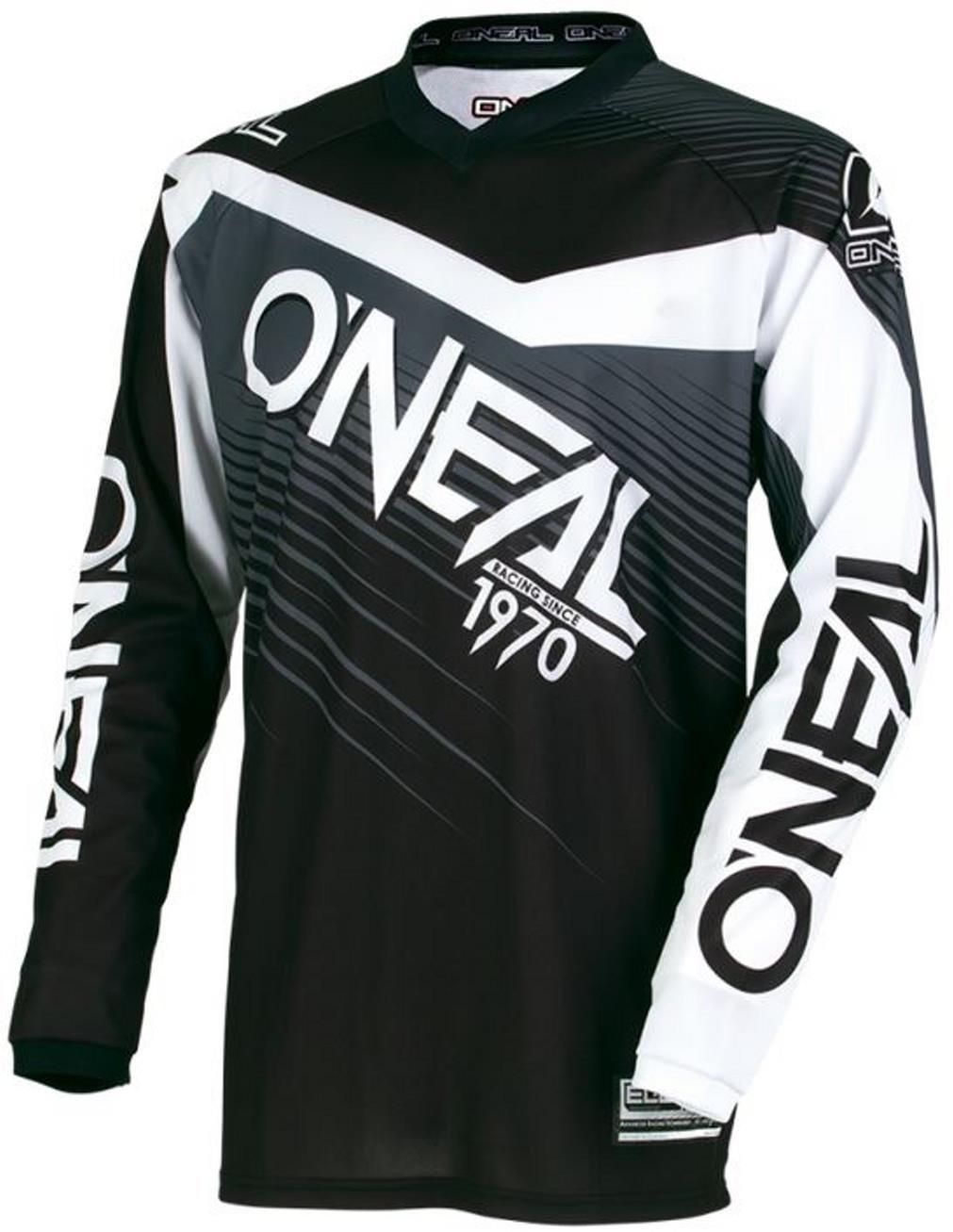 O'Neal Element MX SX Off Road YOUTH Jersey Black Grey Size Medium