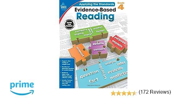 Amazon.com: Evidence-Based Reading, Grade 4 (Applying the ...