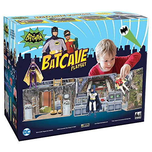 BATMAN CLASSIC TV Series Batcave Retro Playset]()