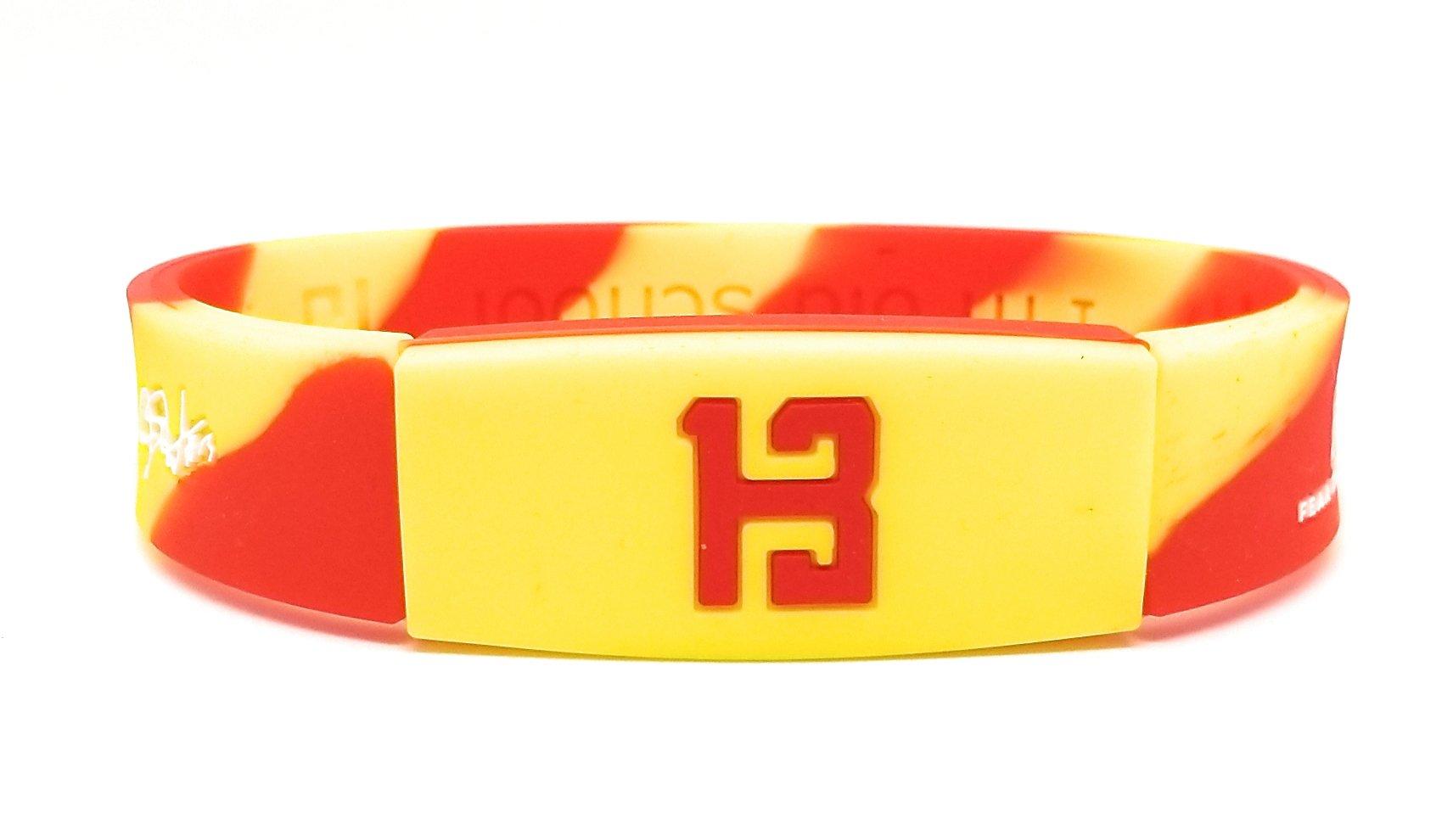 KIDS SportsBraceletsPro REVERSIBLE KIDS Wristband KIDS SIZE 6.7'' Size Bracelet (Harden KID 6.7'' Camo)