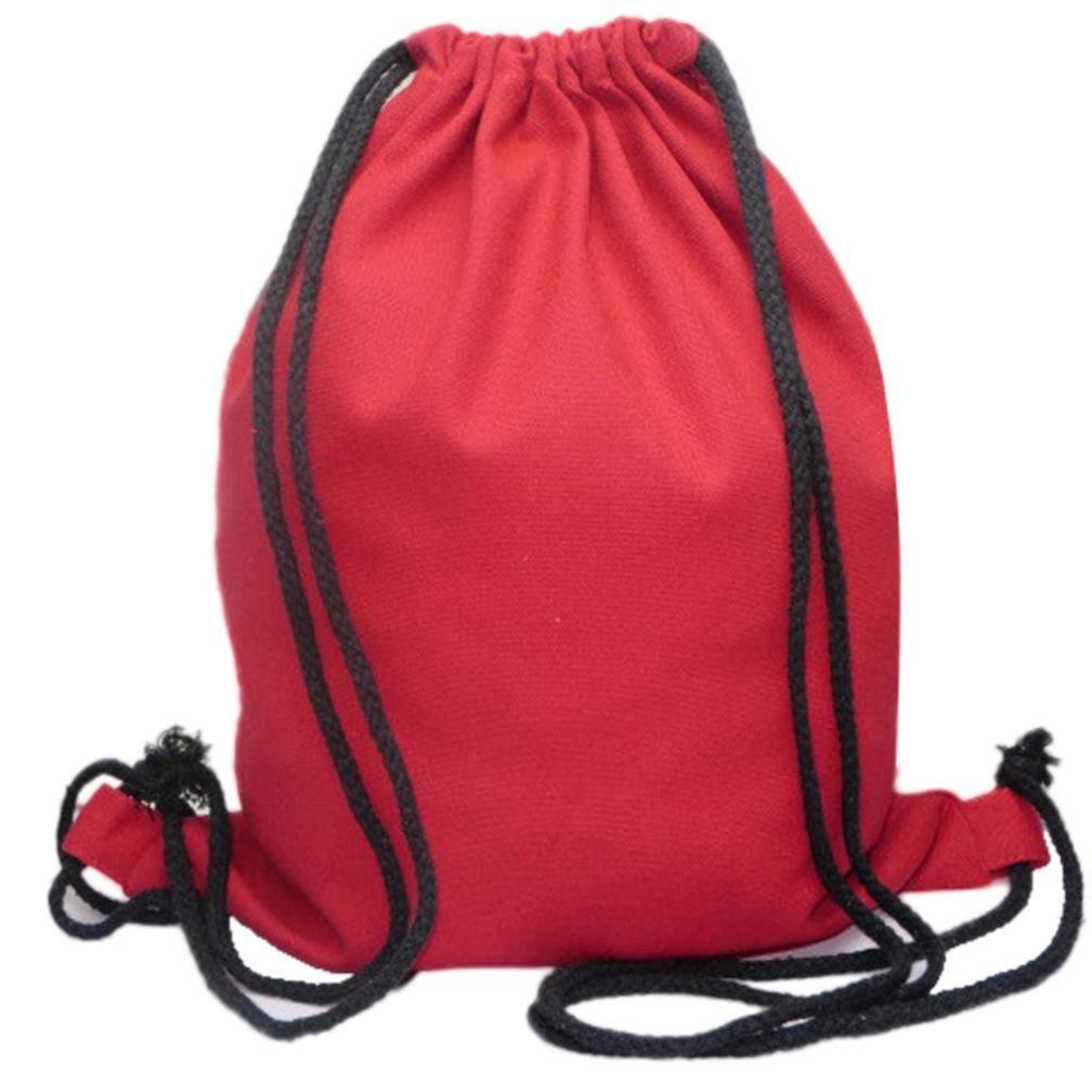 a4de5118d4 Amazon.com  Solid Color Bags Drawstring Bag