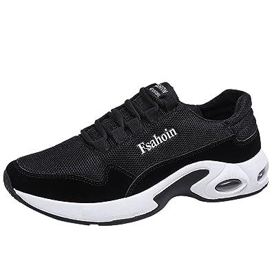 39d9c52c0b9c63 ELECTRI Hommes Chaussures de Sport Outdoor Chaussure Running Baskets Sangle  croisée tissée Volante Entraînement Absorption des