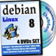 Debian 8, 4-disks DVD Installation and Reference Set
