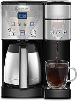 Cuisinart 10-Cup Coffeemaker and Single-Serve Brewer + 15% Rakuten Credit