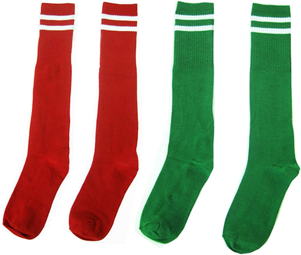 Kylin Express Red Sport Athletic Soccer Sock
