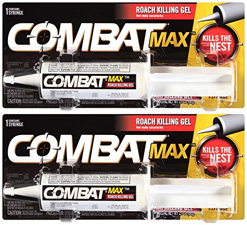 Combat Source Kill Max Roach Killing Gel, 60 Grams Pack Of 2