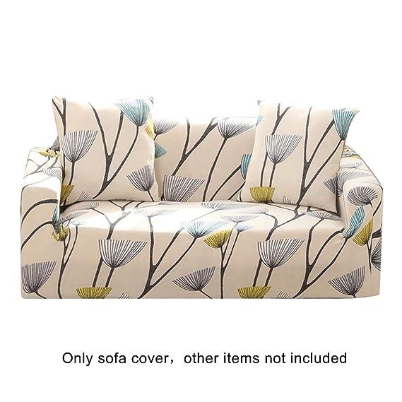 Amazon.com: Super1798 - Funda elástica para sofá, diseño de ...