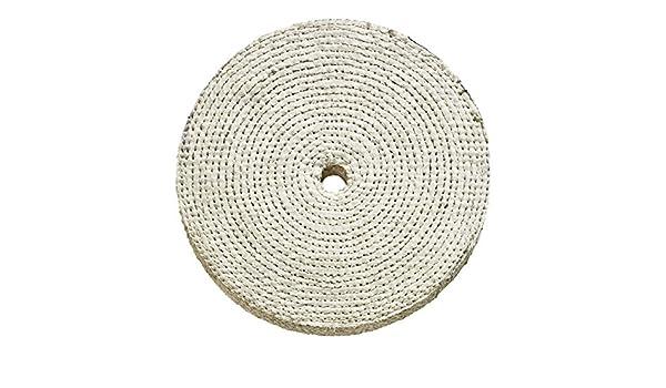 cepillo pulidora de algodón para disco amoladora S166: Amazon.es ...