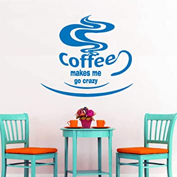 sybdnr Tatuajes de pared Cafetera Taza de café Café Vinilo
