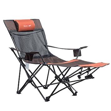 ZGL Chaises Fauteuils Inclinables En Plein Air Reglage Automatique Chaise Pliante Bureau Pause Dejeuner Confortables