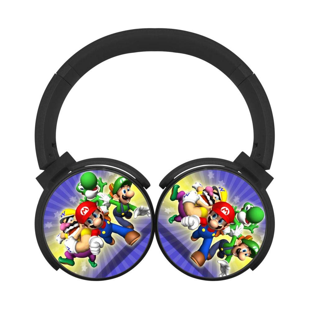 Mobile Wireless Bluetooth Mari-Super_ODY Various Over Ear Headphones Black