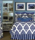Rose Tree Palisades Comforter Set California King, Navy