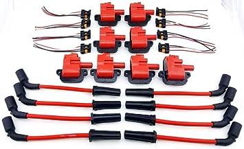 97 - 05 Bobina de encendido Kit de cables 350 5,7 L 5.7 mm Pontiac Firebird GTO LS1 CTS-V LS6: Amazon.es: Coche y moto