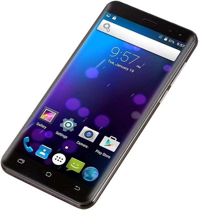 73JohnPol 5 Pulgadas Android 6.0 Smartphone Desbloqueado Quad Core Dual Sim WiFi 3G GPS 512Mb Teléfono móvil y (Color: Negro): Amazon.es: Electrónica