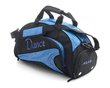 6922c877def Girls Ladies Medium Sparkly Royal Blue Dance Ballet Tap Kit Holdall Sports  Bag KB90 By Katz
