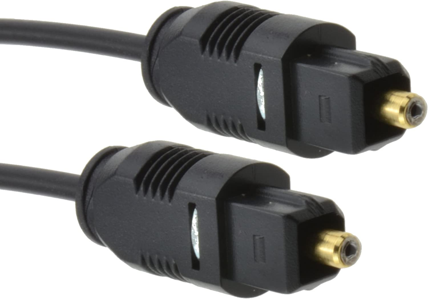 kenable TOS Link TOSLink Optical Digital Audio Cable 2.2mm Lead 0.3m ~1 Foot