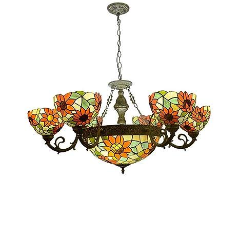 Amazon.com: XNCH - Lámpara de techo estilo Tiffany, estilo ...