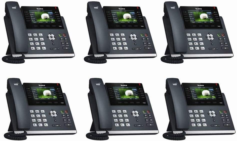"Yealink SIP-T48S SIP Phone 7/"" Touchscreen Optima Bluetooth Gigabit VoIP 16 Line"