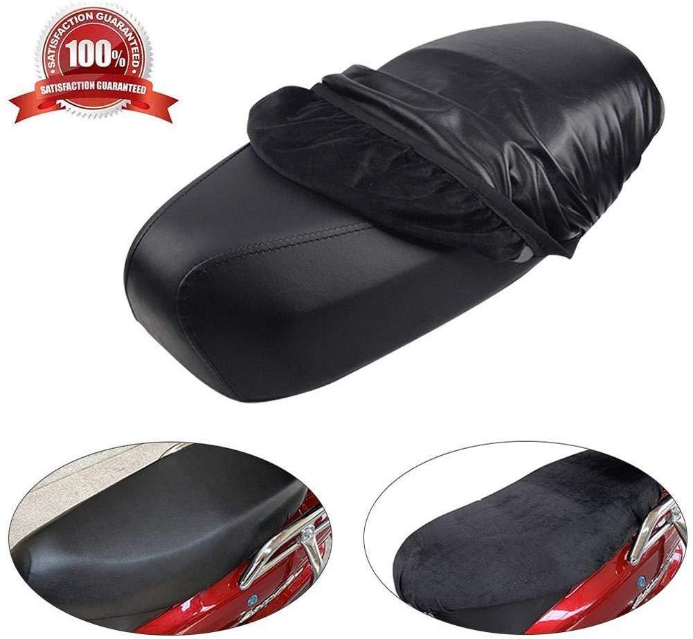 AITOCO Coprisedile per Moto Uso su Due Lati Cuscino in Pelle Impermeabile Coprisella Coprisella Cuscino Morbido per la Maggior Parte dei sedili di Auto elettriche per Moto