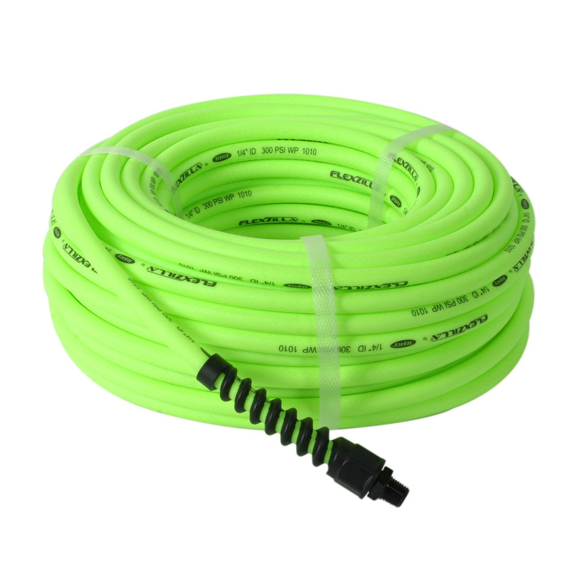 Amazon.com: Flexzilla Pro Air Hose, 1/4 In. X 50 Ft., Heavy Duty,  Lightweight, Hybrid, ZillaGreen   HFZP1450YW2: Automotive