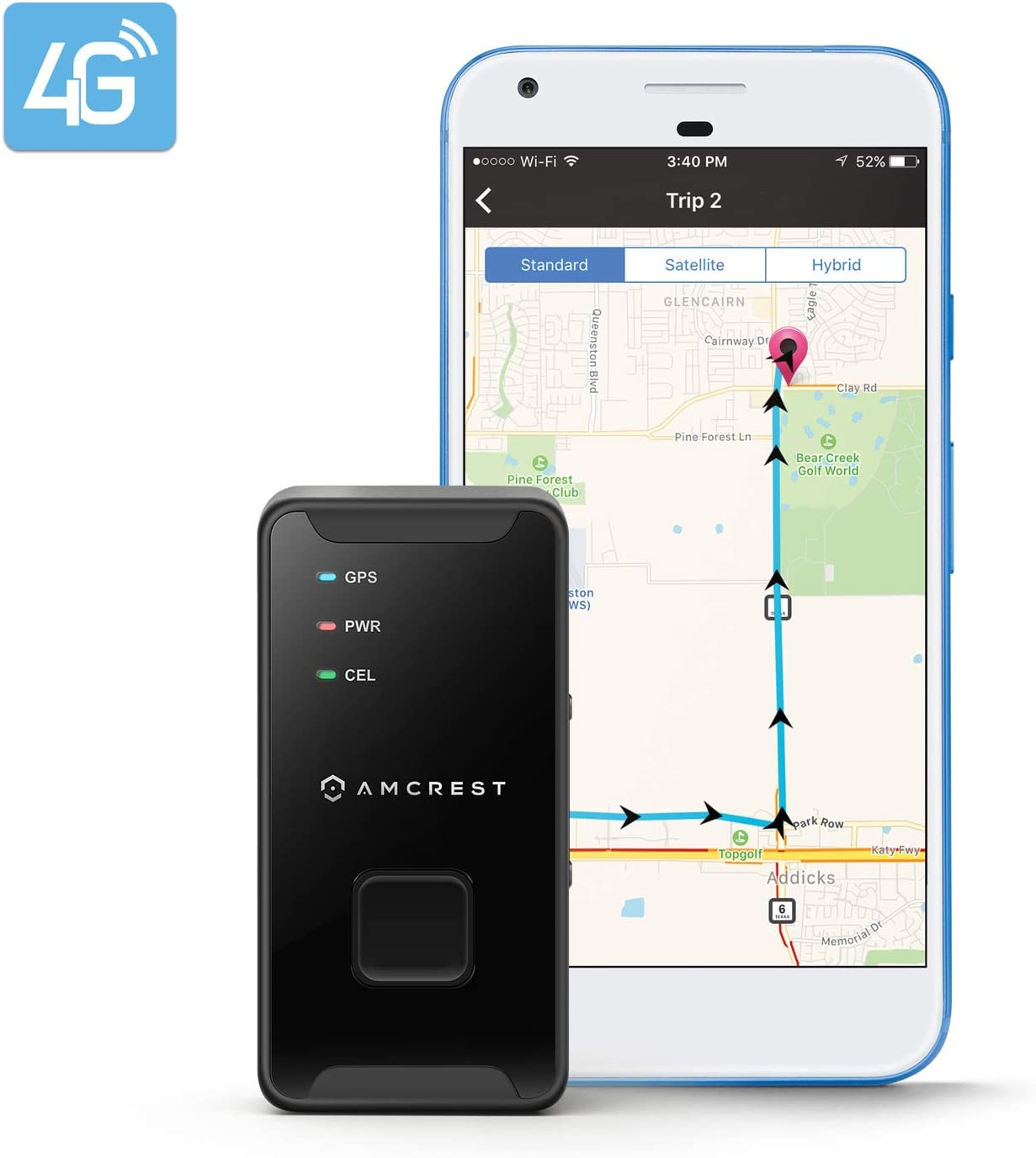 vehicle tracking device no monthly fee