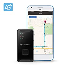 Amcrest 4G LTE GPS Tracker - Portable Mini Hidden Real-Time GPS Tracking Device for Vehicles
