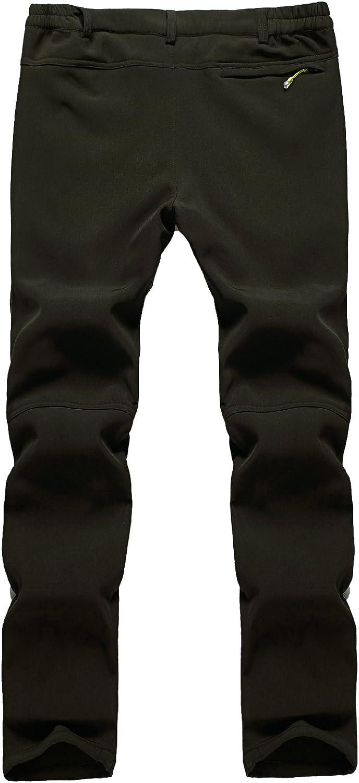 Freiesoldaten Men/'s Outdoor Cargo Pants Windproof Waterproof Softshell Trousers