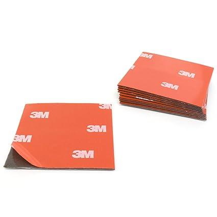 Almohadillas adhesivas 3M 4229P de espuma acrílica, de doble cara, 50 x 50 mm