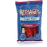 Red Vines  Sugar Free Strawberry Licorice Twists, 5oz (12 Pack)
