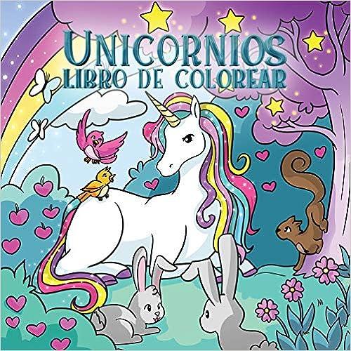 Unicornios libro de colorear