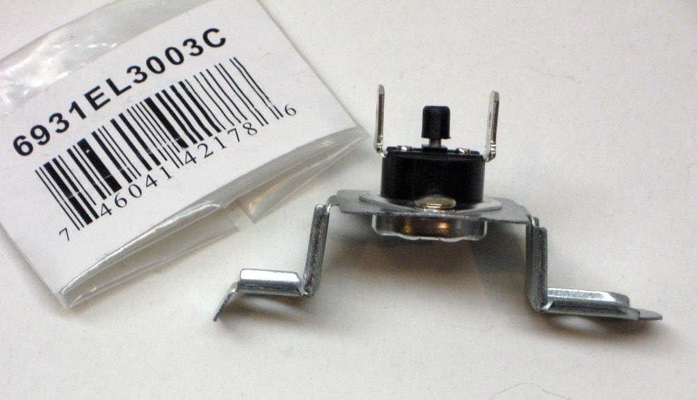 Major Appliances 6931EL3003C for LG Dryer Thermostat Thermal Fuse Reset PS3530484 AP4457603