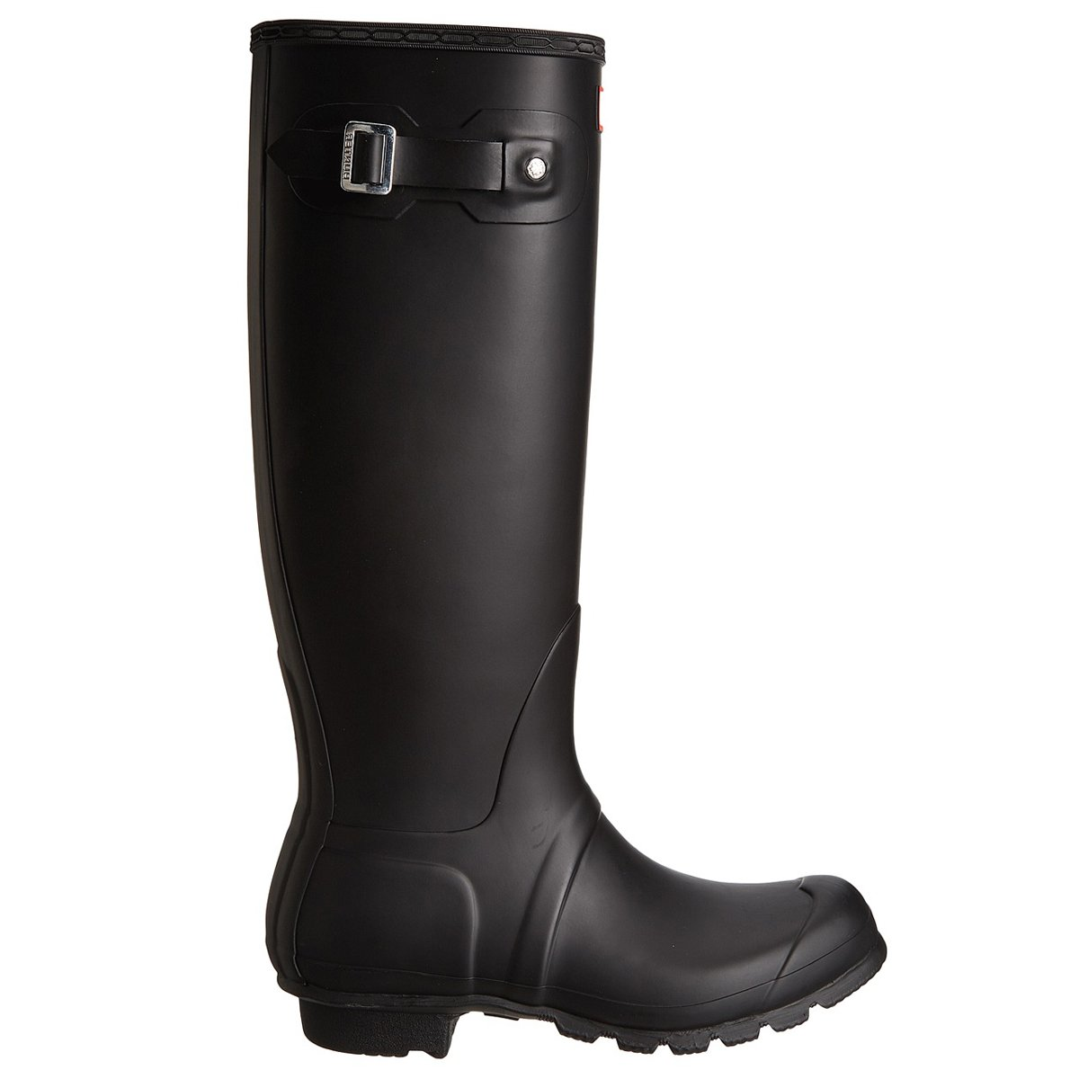 Hunter Women's Original Tall Wellington Boots, Black - 7 B(M) US