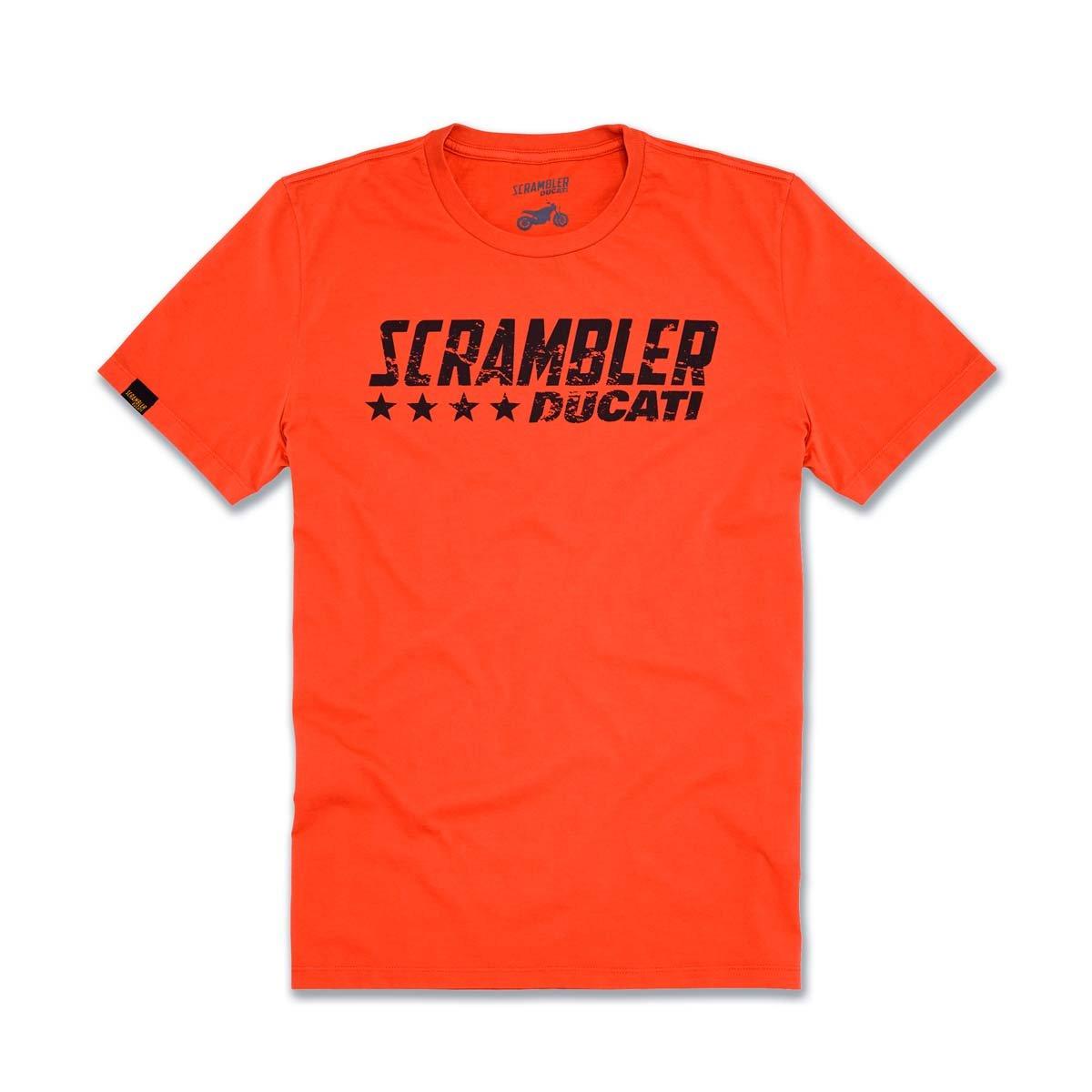 Ducati Orange Flip T-shirt Size XXX-Large 5559128167