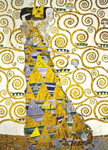 Gustav Klimt Poster Photo Wallpaper - Expectation, 1905-1909 (Detail), 2 Parts (98 x 71 inches)