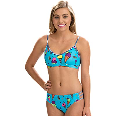.com : MIXED BRAND CODES Dolfin Women's Uglies Strappy Two-Piece Swimsuit - 6501L Size: Clothing