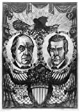 Photo: Principles, not men, Democratic Candidates, Lewis Cass, William Orlando Butler, c1848 . Size: