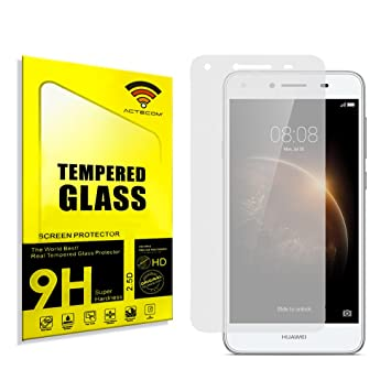 Electr/ónica Rey Protector de Pantalla para Huawei Y6 II Compact Cristal Vidrio Templado Premium