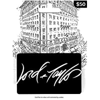 $50 Lord & Taylor Gift Card Deals