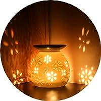 ecooe Lámpara de aceites Esenciales para aromaterapia cerámica