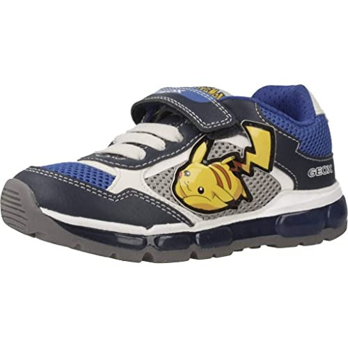 Geox Calzature Sportive Bambino, Color Blu, Marca, Modelo Calzature Sportive Bambino J Android Boy Blu