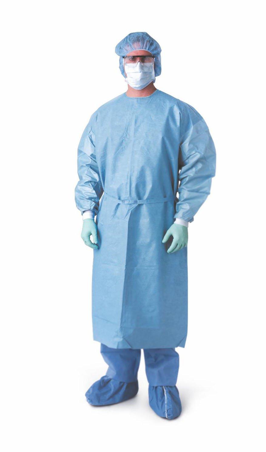 Amazon.com: Medline NON27457 Prevention Plus Isolation Gowns, R ...