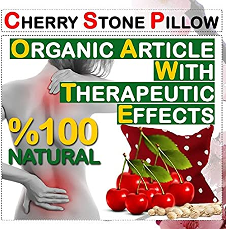 Opal Cherry Stone Neck Thermal Pillow
