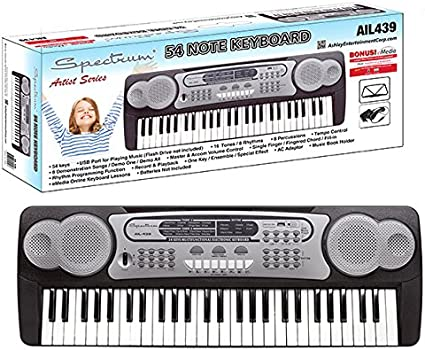 Spectrum AIL495 61-Note Electronic Keyboard FAST SHIPPING!