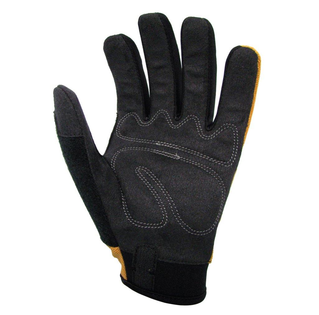 Pack of 1 Pair 2X-Large Work Cestus Trade Series GenU Utility Glove Yellow