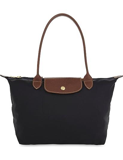 LONGCHAMP Le Pliage large shoulder bag (Black)  Amazon.co.uk  Shoes ... 05dd1dc2d127c