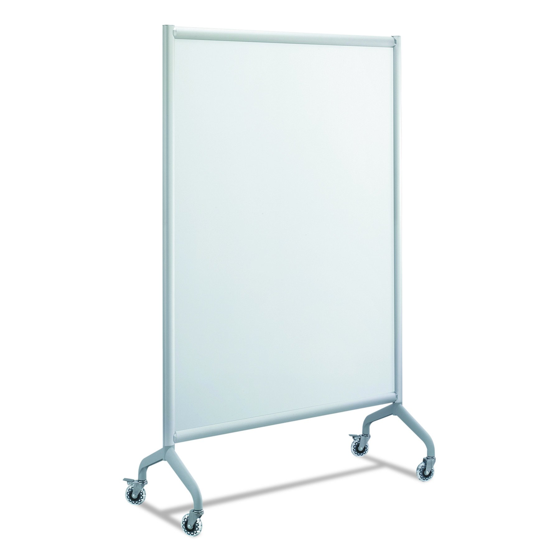 Safco Products 2017WBS Rumba Full Panel Collaboration Screen Whiteboard 42 x 66'', Gray Frame